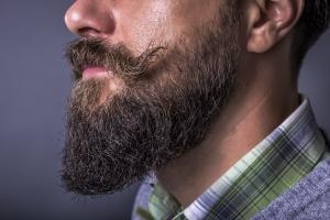 beard portrait close-up