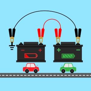 Car_Battery_Jumper Cables